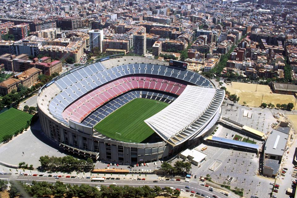 Il Camp Nou , Spagna