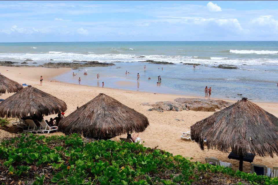 La ligne verte , Costa do Sauipe , Brésil