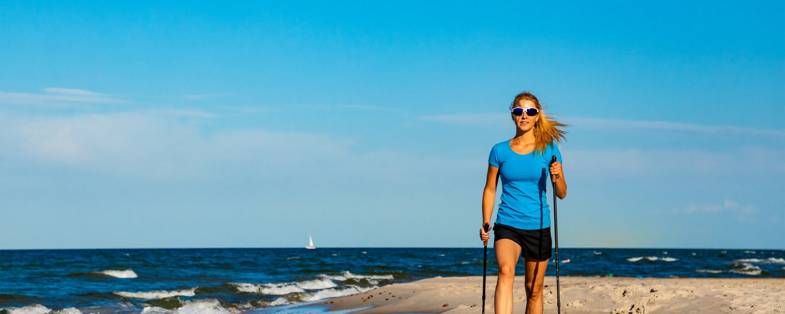 Nordic walking, Nordic walking in Lloret del Mar, Activities and leisure, Lloret de Mar, Catalonia