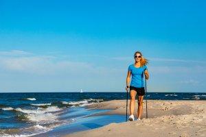 Nordic Walking in Lloret del Mar , Nordic Walking , Spanien