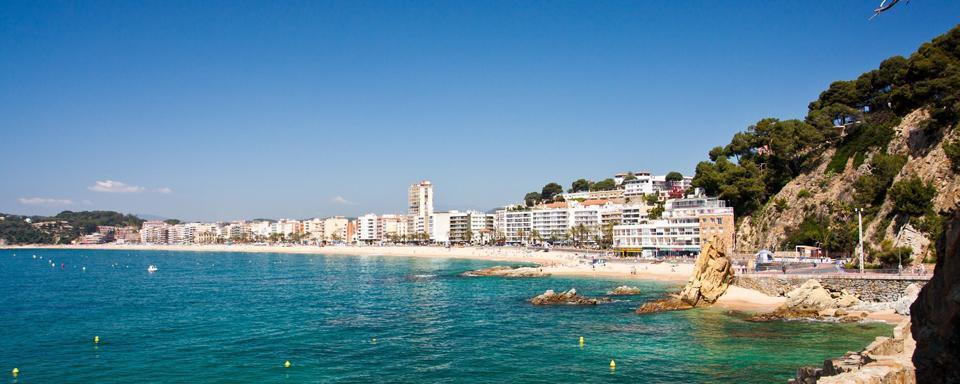 nordic walking in lloret del mar catalonia spain. Black Bedroom Furniture Sets. Home Design Ideas