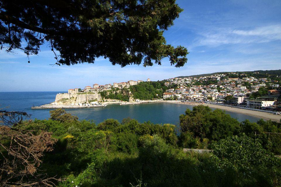 La costa meridionale , Montenegro