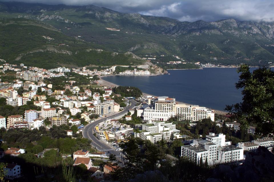 La costa meridionale , Chiesa , Montenegro