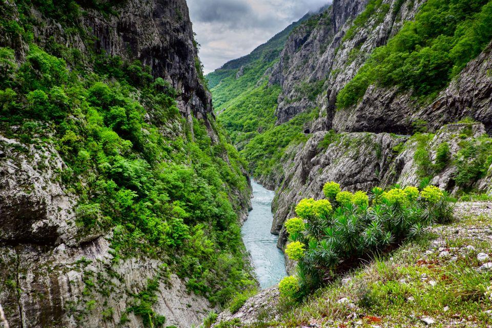 Les paysages, canyon, gorges, moraca, monténégro, europe
