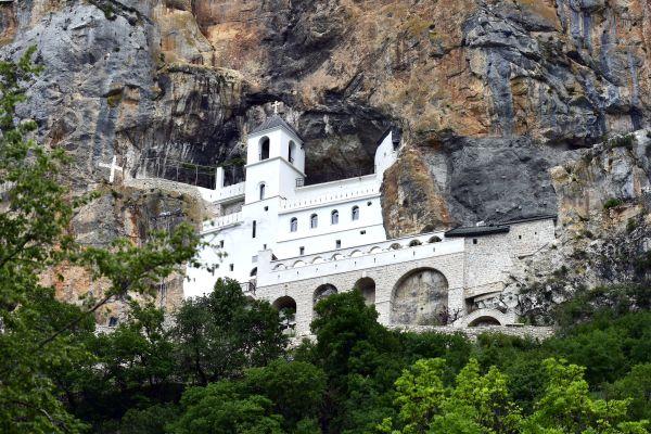 Les monuments, europe, montenegro, monastere, ostrog, religion, catholicisme