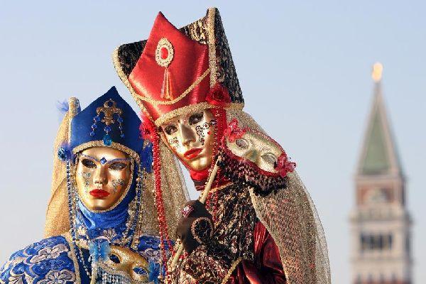Carnaval , Masque au Carnaval de Venise , Italie