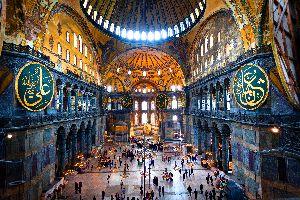 Die Hagia Sophia , Das Hagia-Sophia-Moschee-Museum , Türkei