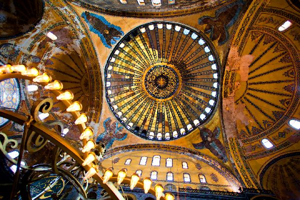 Museo de Santa Sofía , La cúpula del museo , Turquía