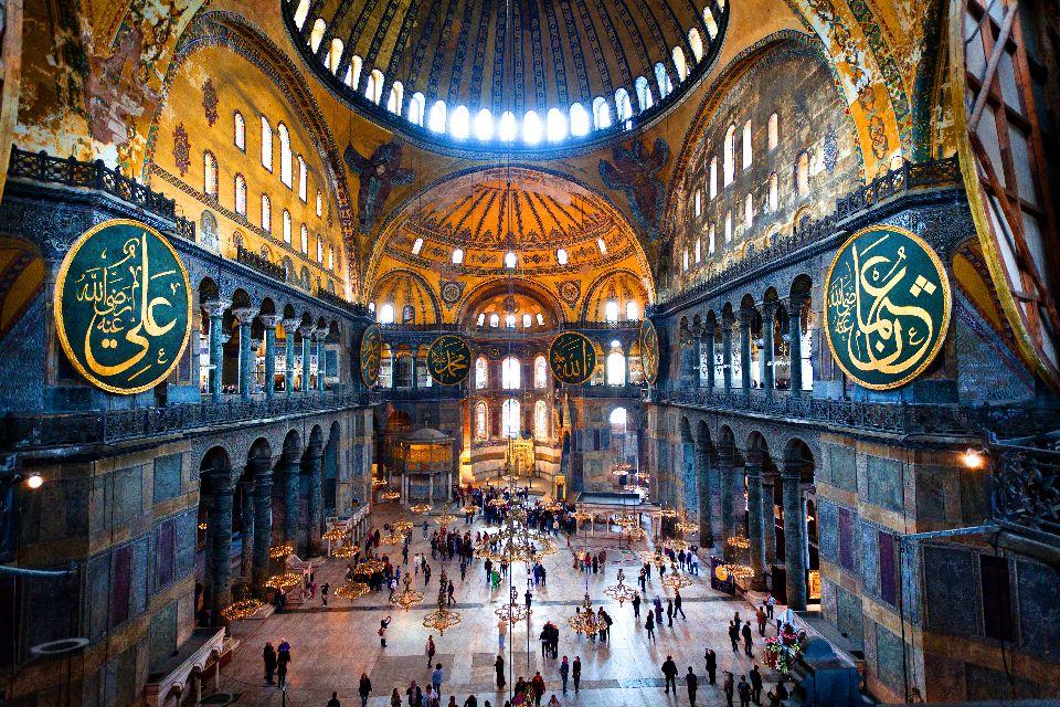 Musée Sainte Sophie , Le Musée de Sainte Sophie , Turquie