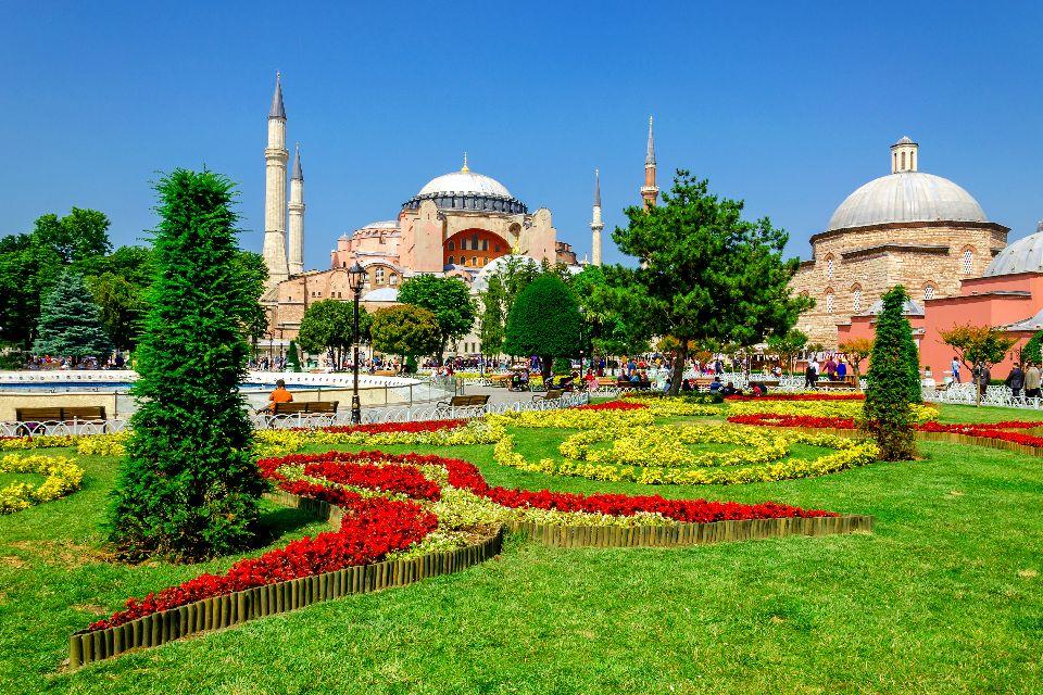 Musée Sainte Sophie , La mosquée de Sainte Sophie , Turquie