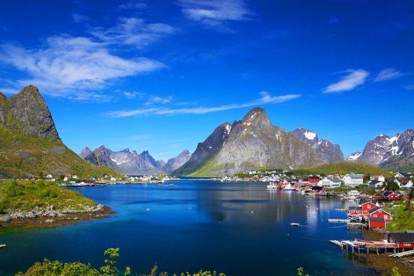 Las islas Lofoten , no title ! , Noruega