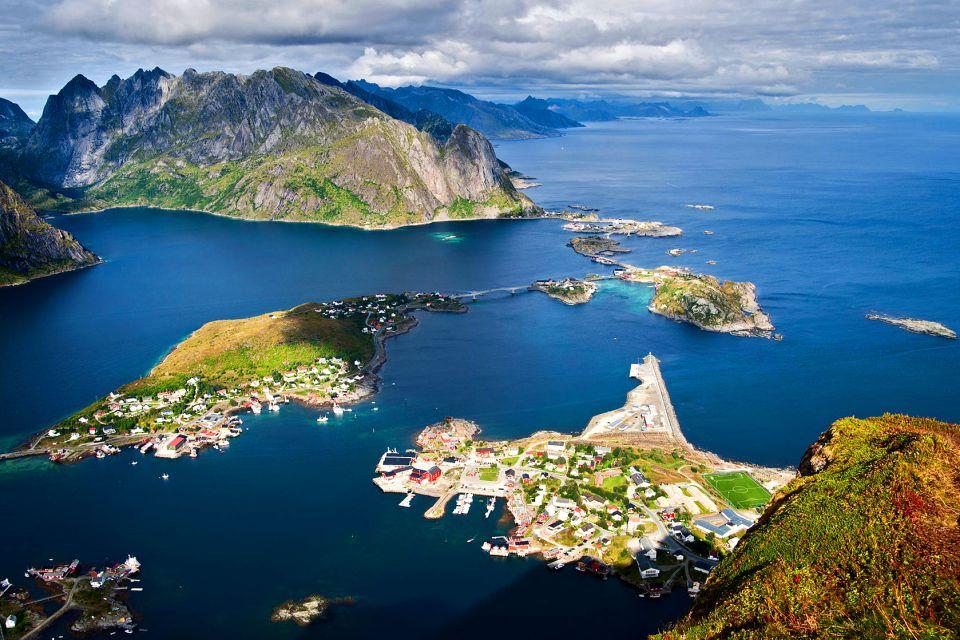 Les îles Lofoten , Le climat sur les Lofoten , Norvège