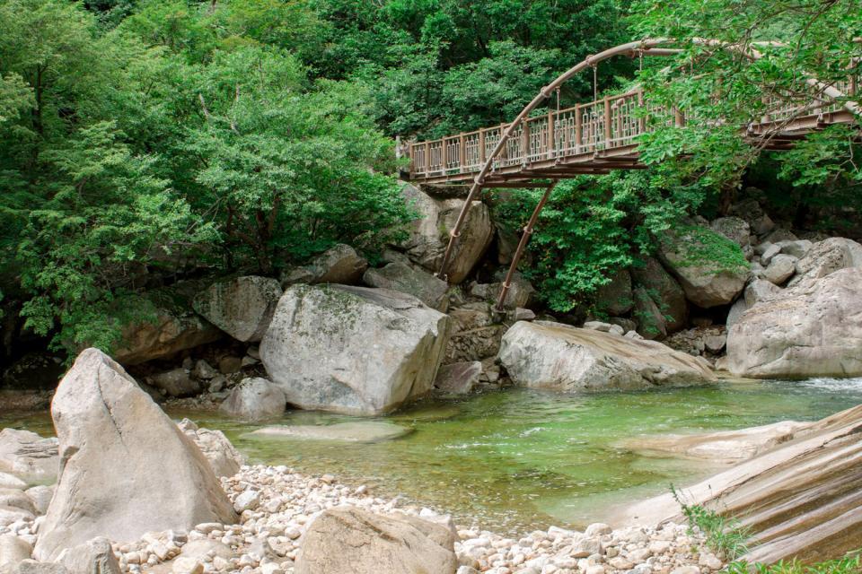 Geumgansan , the Diamond Mountains , South Korea
