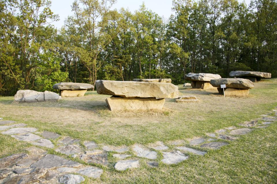 The Dolmen sites , South Korea