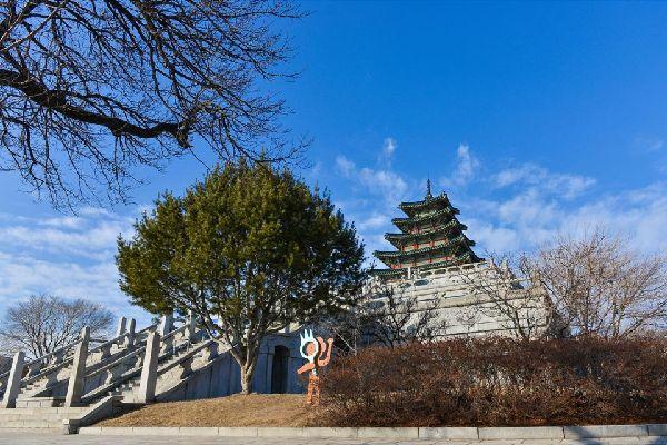 El Museo Nacional Folclórico de Corea , Corea del Sur