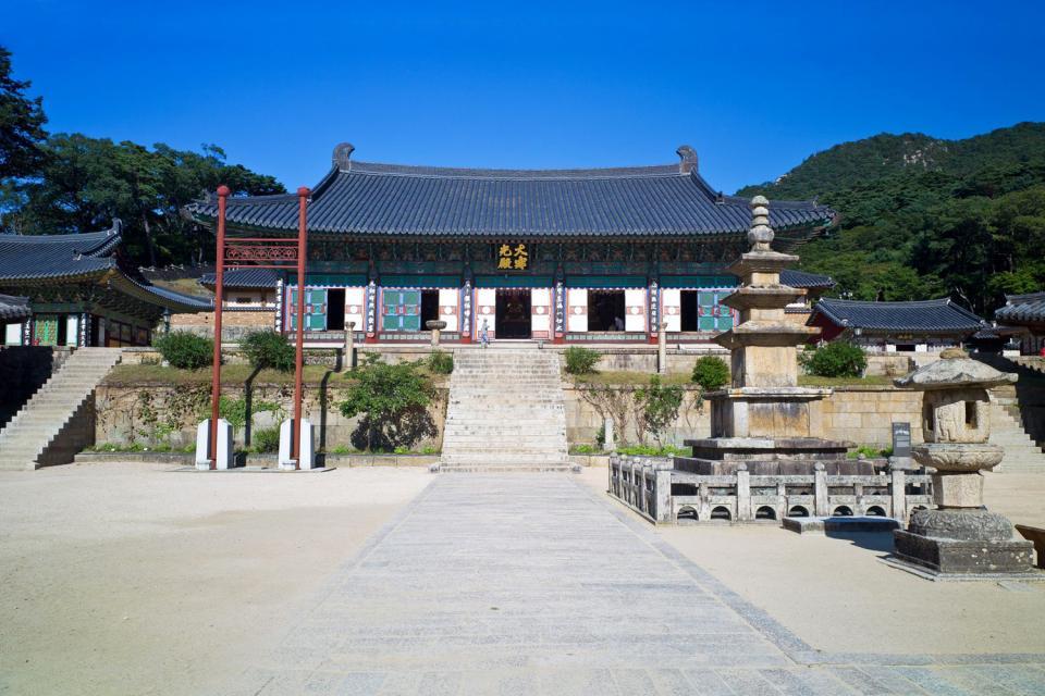 Der Haeinsa-Tempel , Südkorea