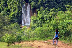El Limon Waterfall, Salto de Limon (waterfall), Landscapes, Dominican Republic