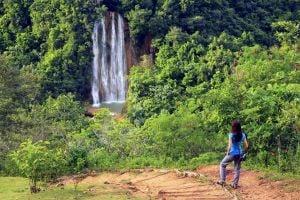 La cascada El Limón, Los paisajes, República Dominicana