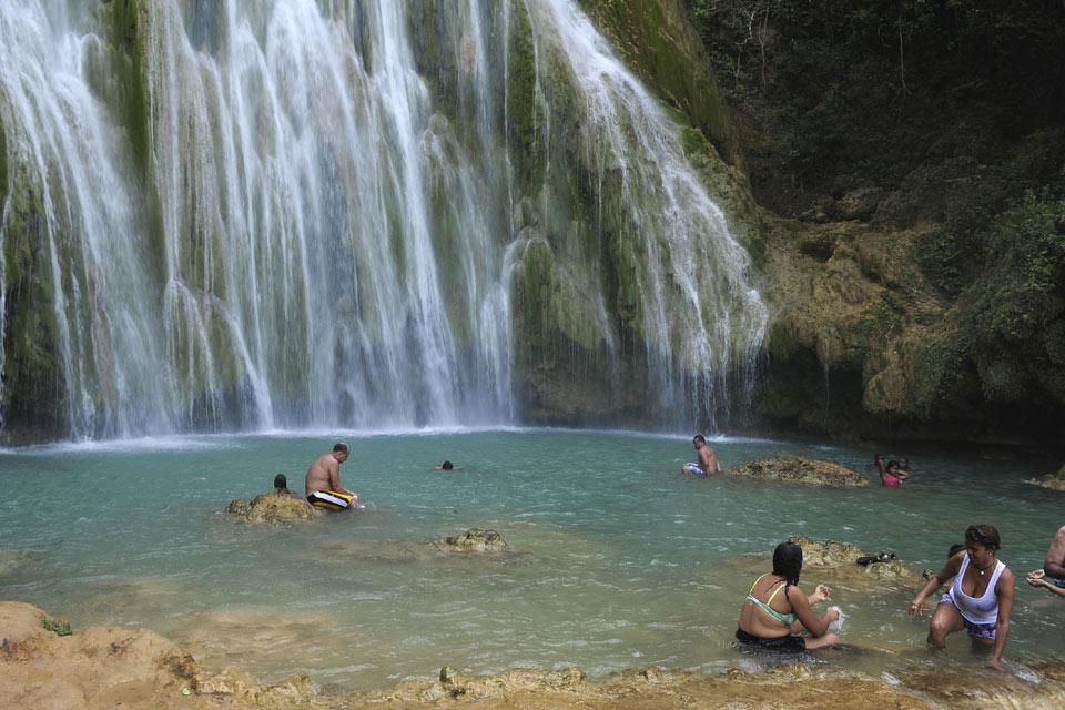 The Samana Peninsula , El Limon waterfall , Dominican Republic