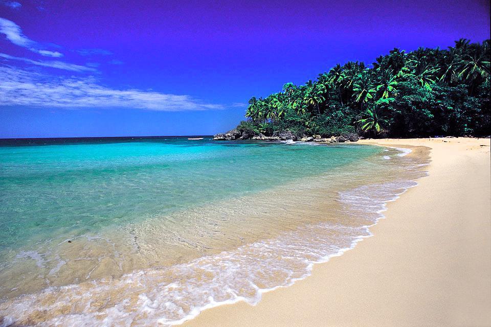 The Samana Peninsula , The preserved peninsula , Dominican Republic