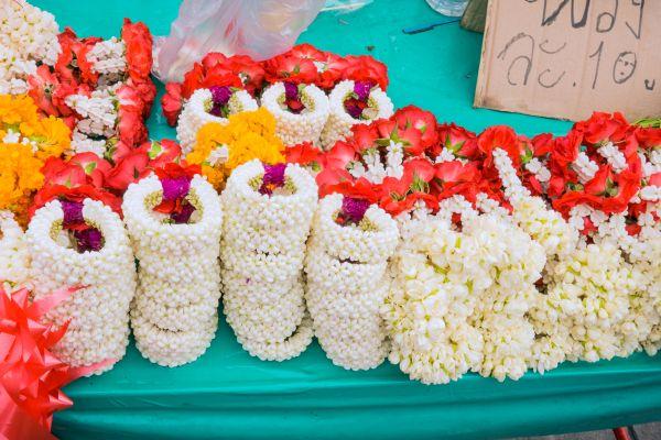 Opening hours of the markets, Pak Khlong Talat, Arts and culture, Bangkok, Thailand