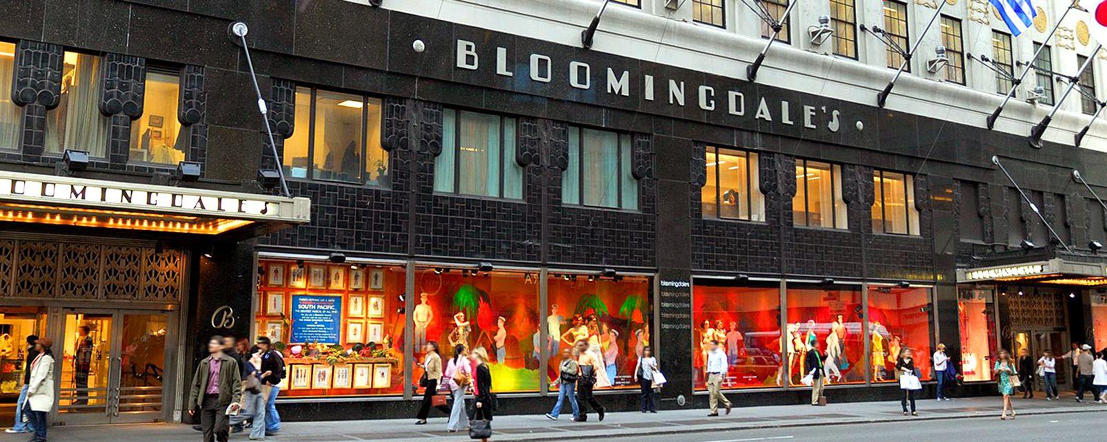 Bloomingdale's , Il Bloomingdale's , Stati Uniti
