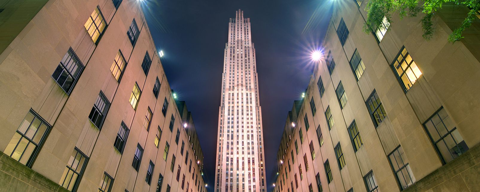 Rockfeller center , Il Rockefeller Center , Stati Uniti