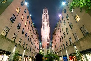 Rockfeller center , El Rockefeller Center , Estados Unidos
