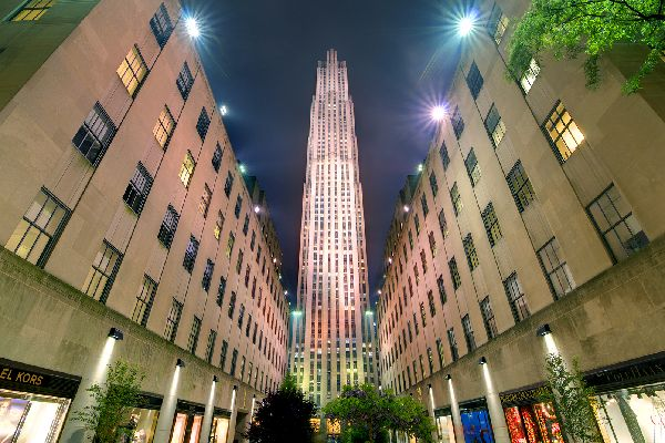 Rockfeller center , Le Rockefeller Center , Etats-Unis