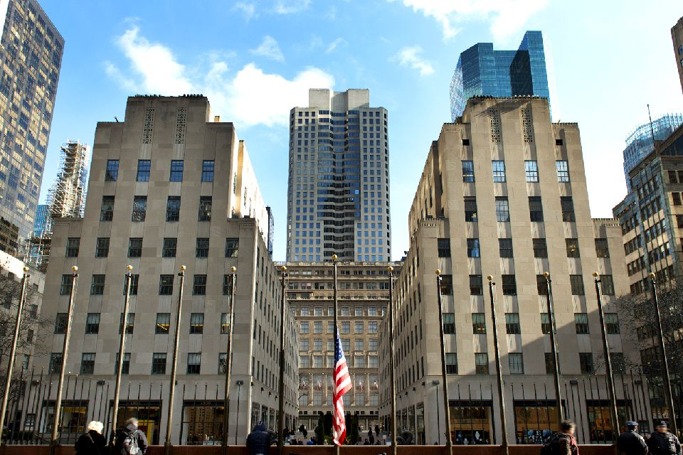 Rockefeller Center , 'Seeds of Good Citizenship', Rockefeller , United States of America