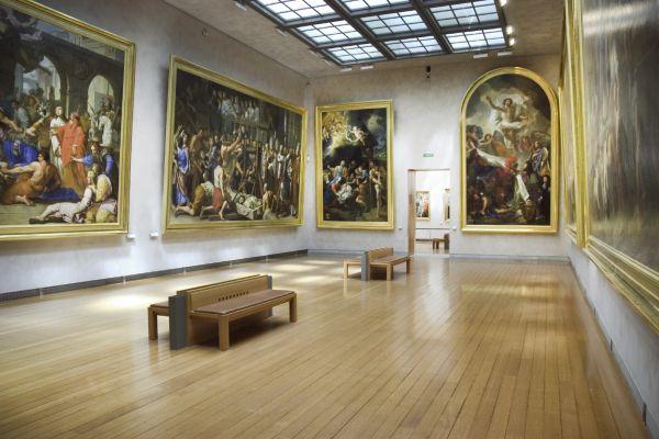 Musée des Beaux-Arts (Kunstmuseum) , Frankreich
