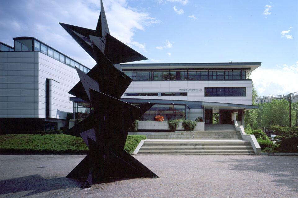 Musée de Grenoble , The museum's façade , France