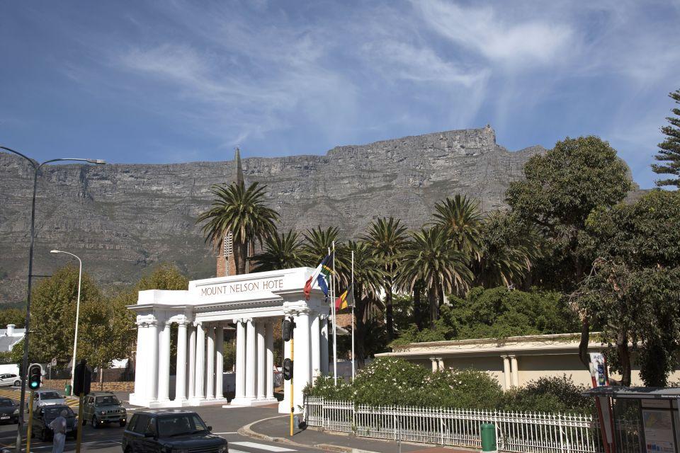 Mount Nelson, L'Hotel Mont Nelson , Le residenze e gli hotels, Sudafrica