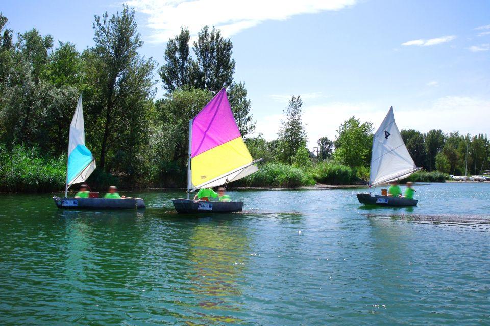 Grand Parc Miribel-Jonage , La voile , France