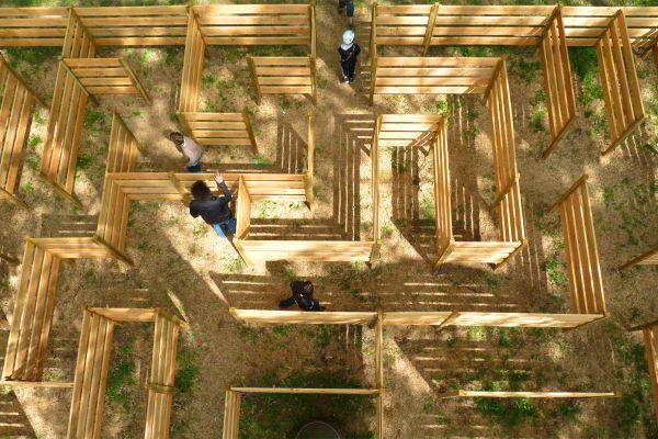 City Aventure Lyon , The maze , France