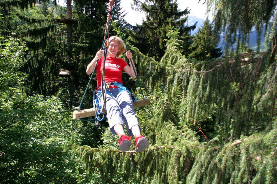 Les Aventuriers du Nant Burian , Le parc de la forêt de Nant Burian , France