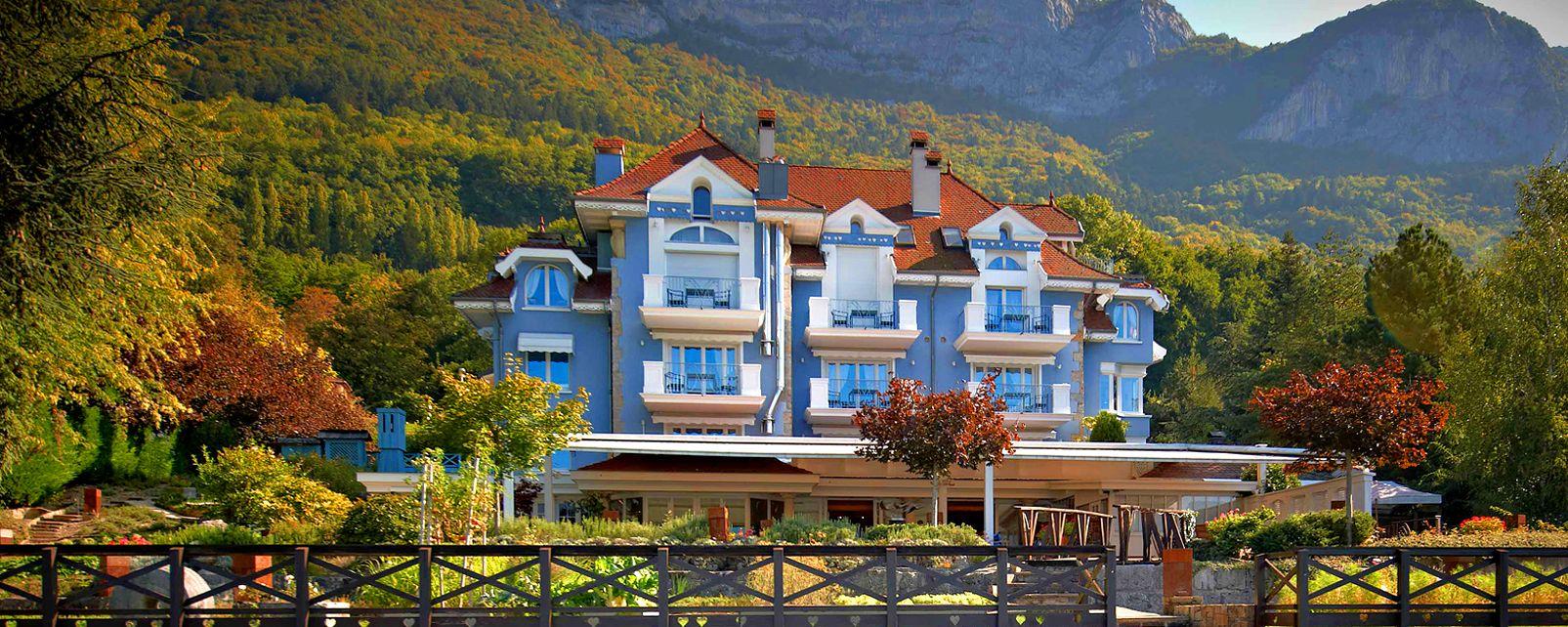 L'Auberge de l'Eridan , The new house of Marc Veyrat , France