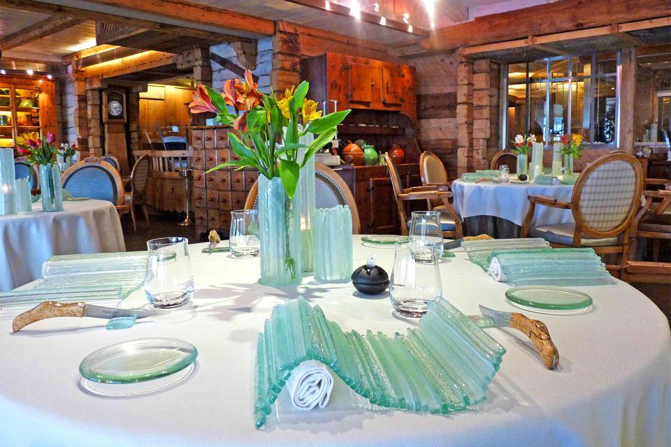 L'Auberge de l'Eridan , Yoann Conte's restaurant , France