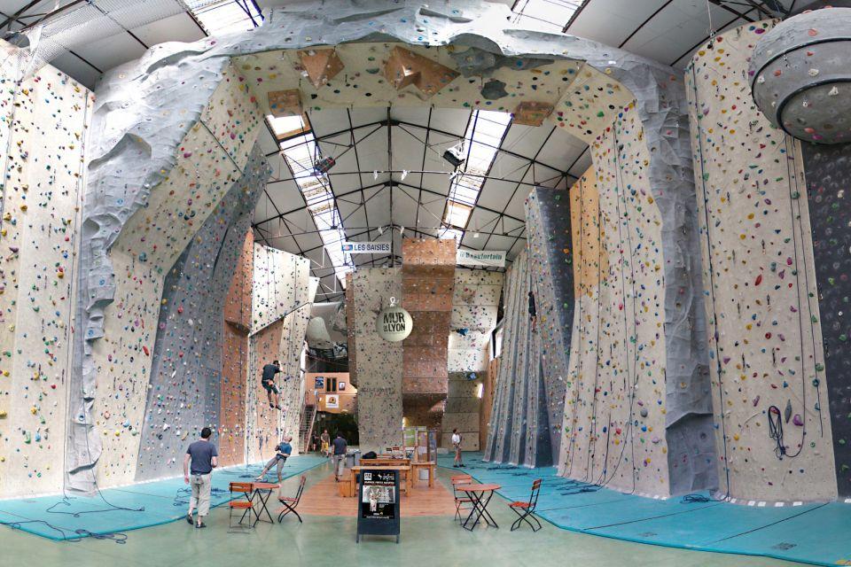 Mur de Lyon , la salle d'escalade de Lyon , Le complexe sportif , France
