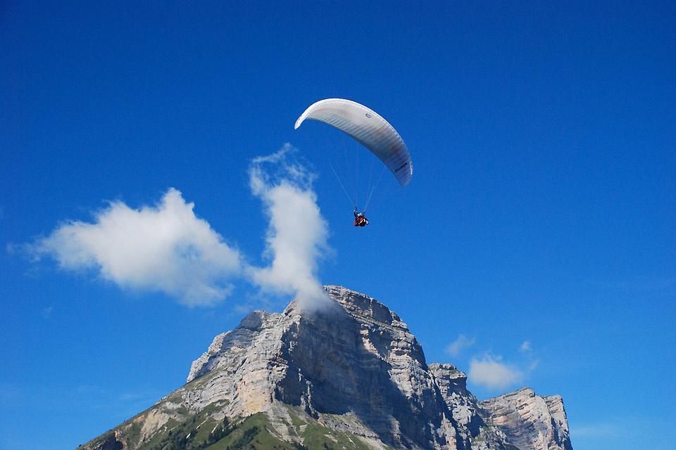 Prévol , Le parapente en Rhône-Alpes , France