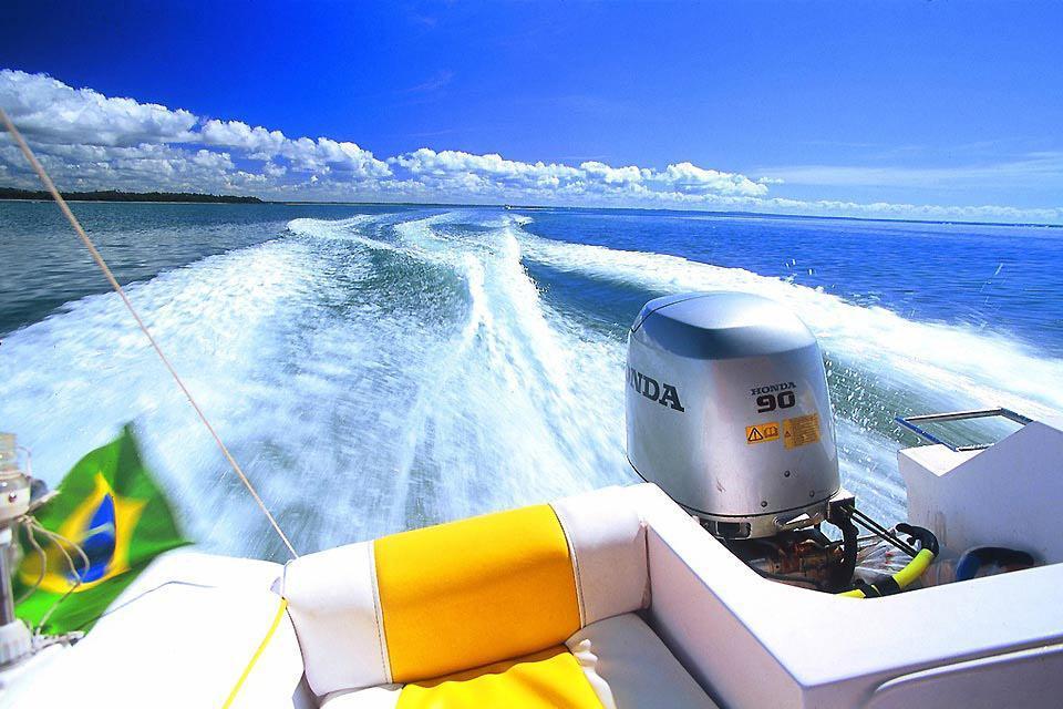 Boipeba , The island is reached by boat , Brazil