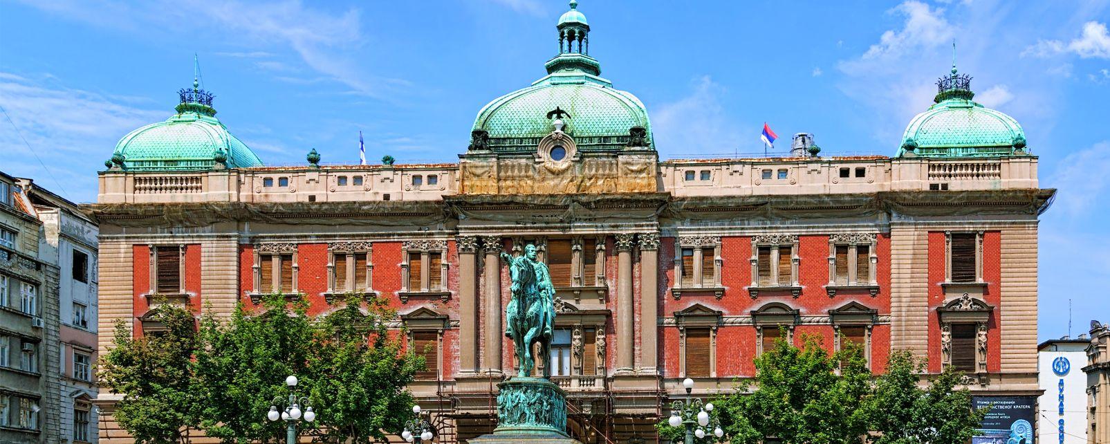 Le musée national, Les musées, Serbie