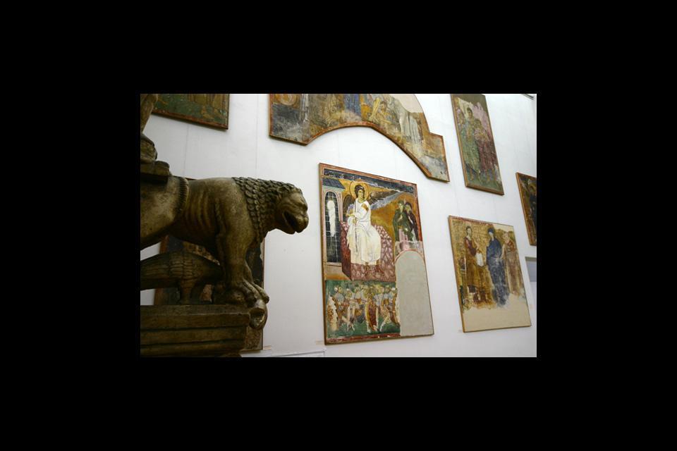 Il Museo degli Affreschi , Serbia