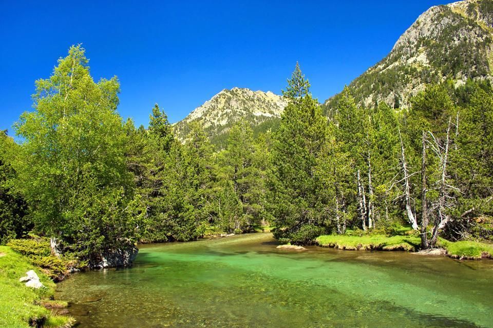 Parc national d'Aigüestortes , Espagne
