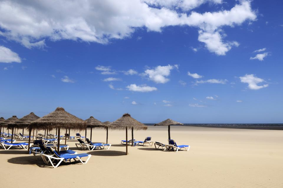Costa de la Luz- Cadiz y Huelva , Golden sandy beaches , Spain