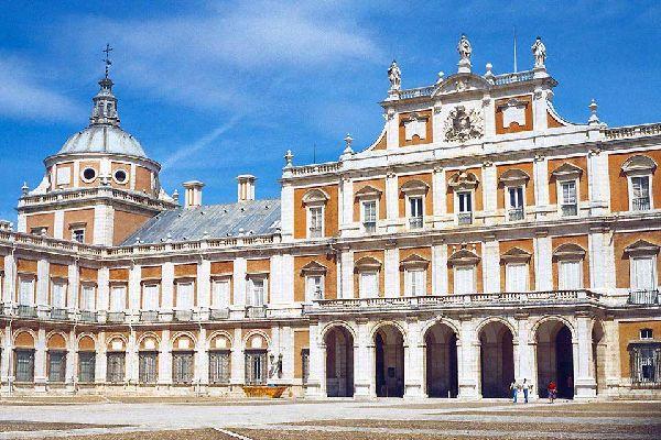 Das Schloss von Aranjuez , Die Königsresidenz , Spanien