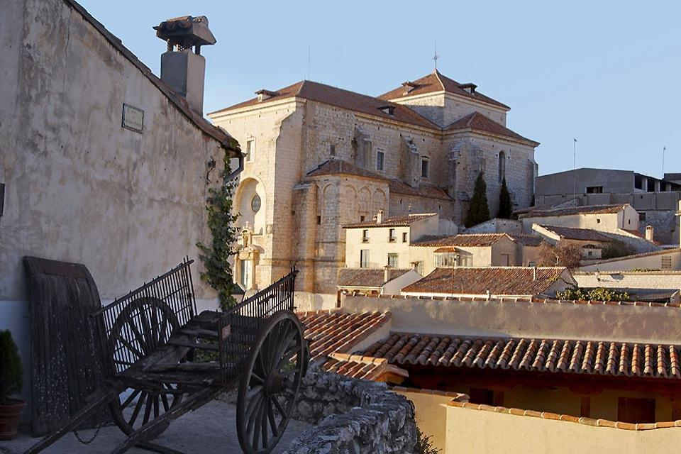 The Church of Our Lady of the Assumption in Chinchón , Spain
