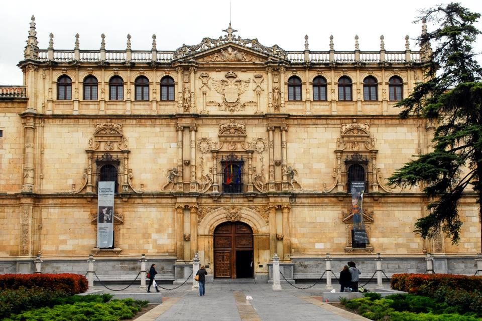 The University of Alcala de Henares , The University of Alcalá de Henares , Spain