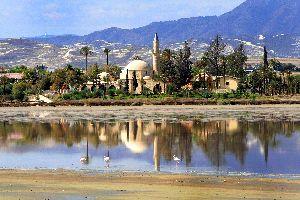 La mosquée Hala Sultan Tekke , Chypre