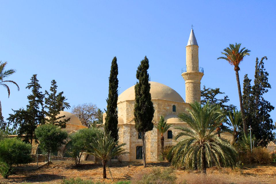 The mosque of Hala Sultan Tekke , An excursion to Hala Sultan , Cyprus